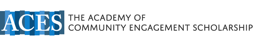 Academy of Community Engagement Scholarship (ACES)